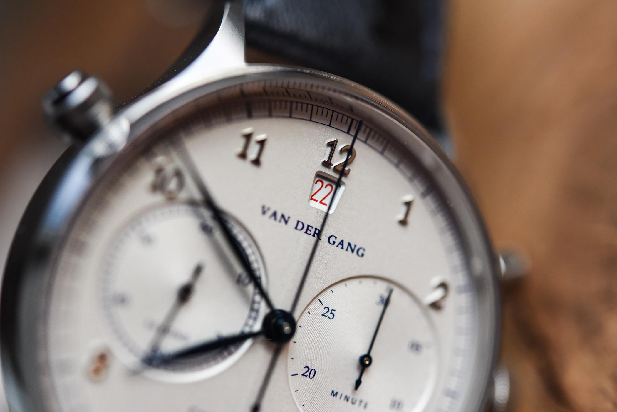 Van der Gang 20019 Chronograph - review - 15