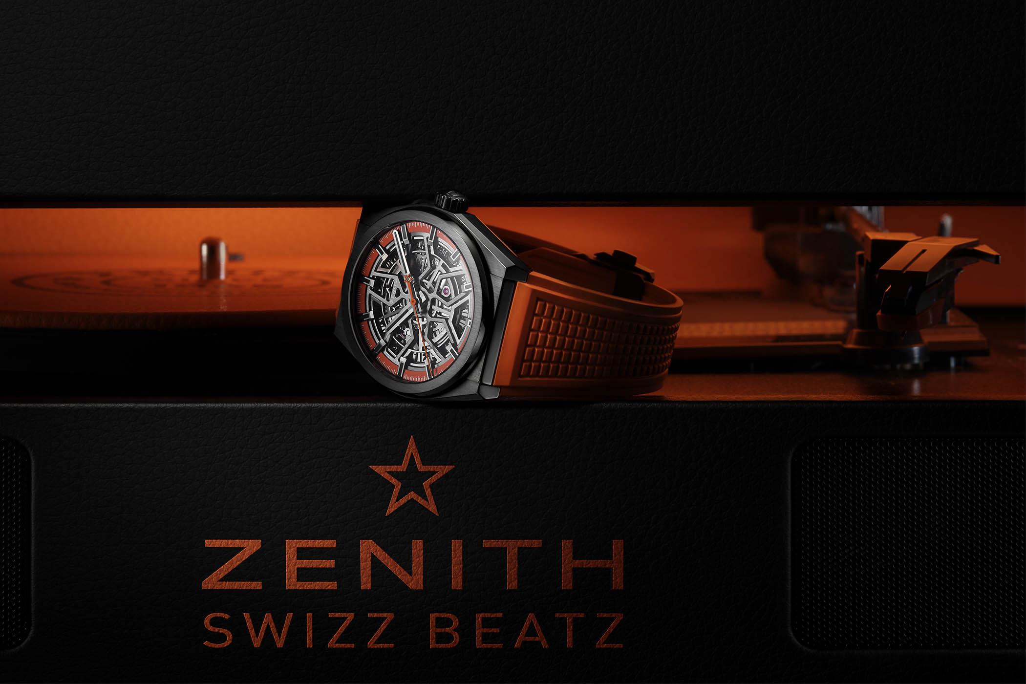 Zenith Defy Classic Black Ceramic Skeleton Swizz Beatz Edition