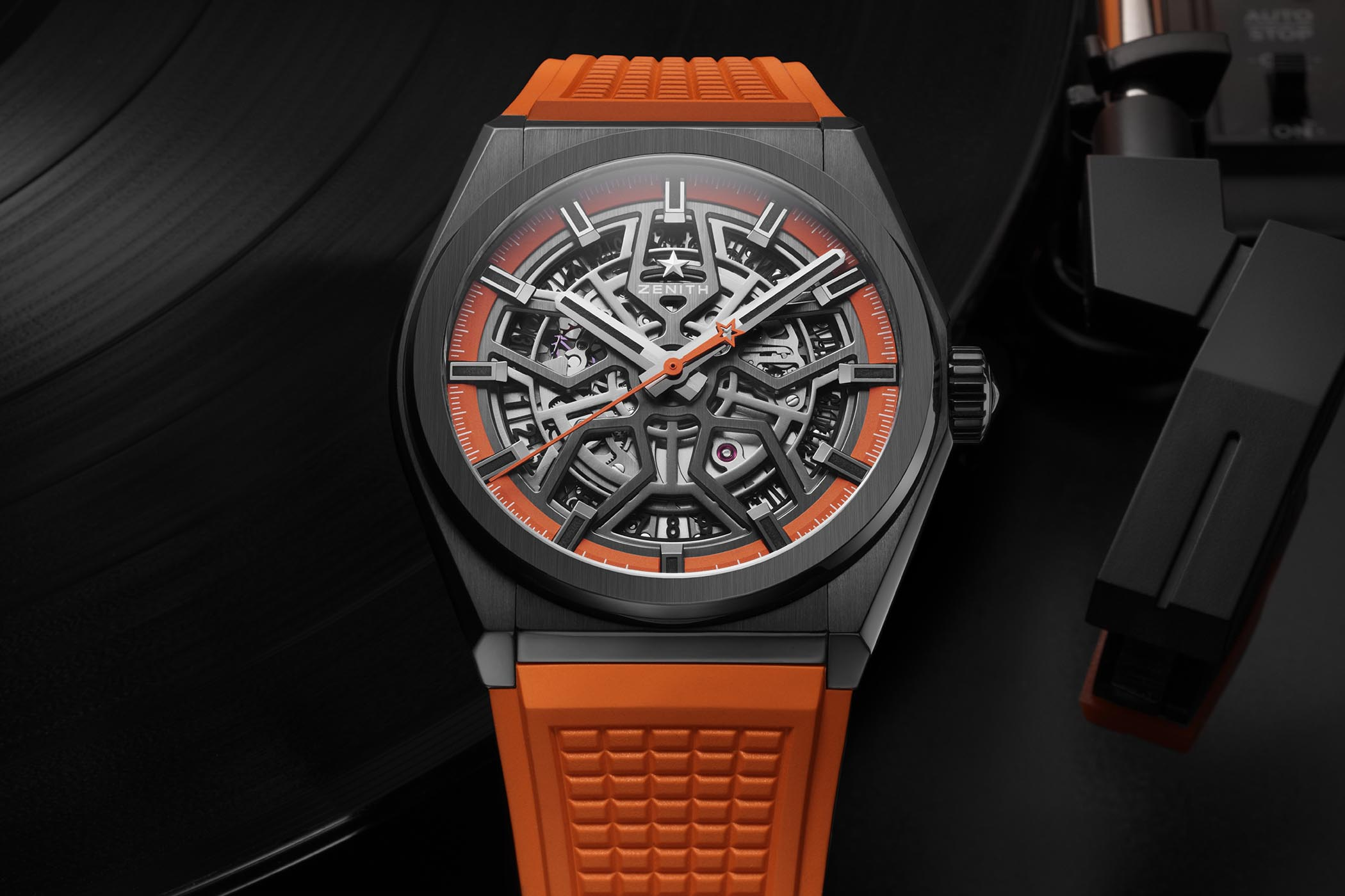 Zenith Defy Classic Black Ceramic Skeleton Swizz Beatz Edition