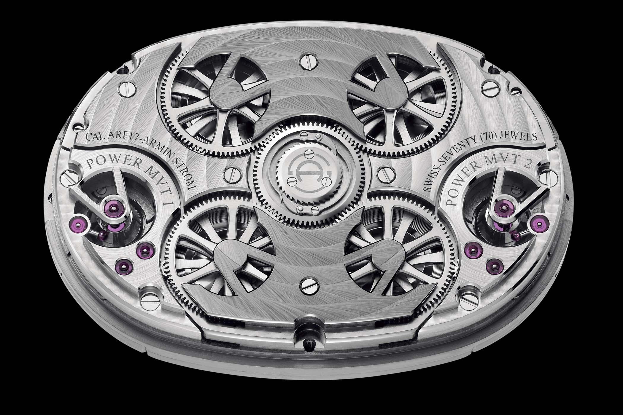 Armin Strom Dual Time Resonance Sapphire SIHH 2019 - 3