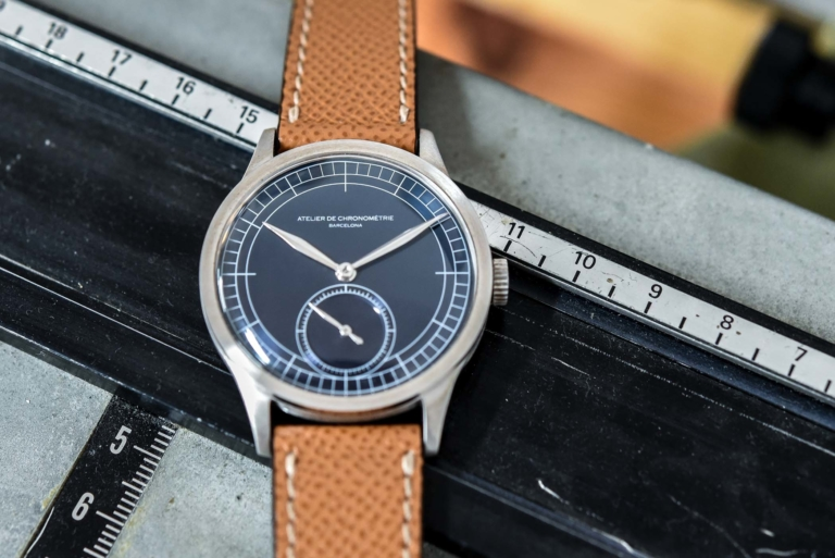 Atelier de Chronométrie AdC #1 and AdC #2 – As Hand-Made As Possible - Monochrome Watches