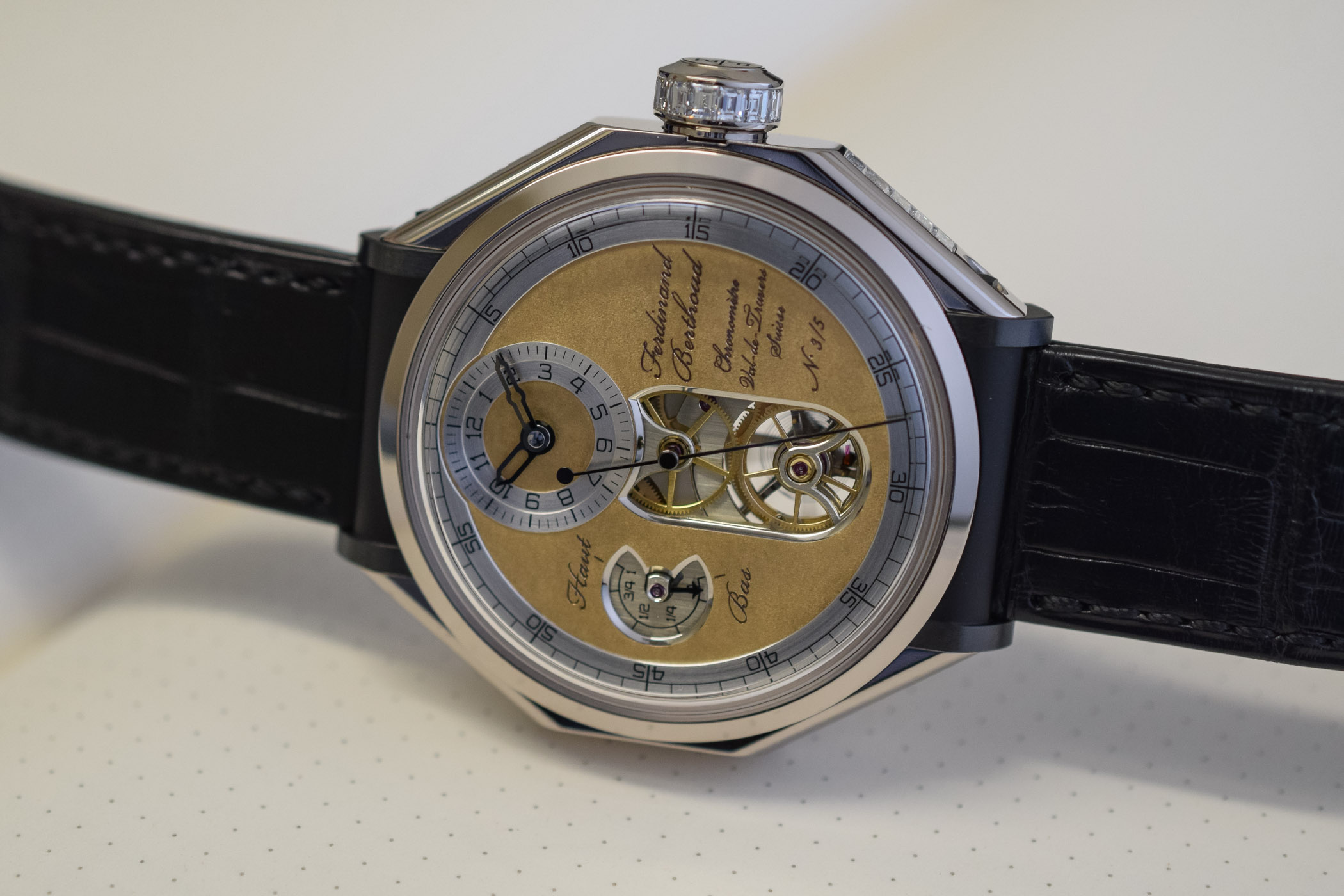 Ferdinand Berthoud Oeuvre d'or Collection Chronometre FB1 SIHH 2019 - 1