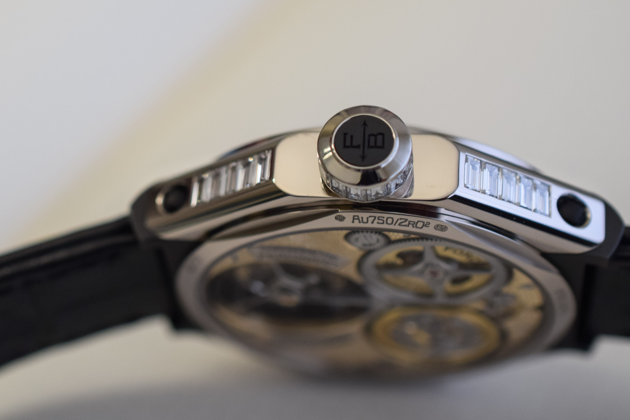Ferdinand Berthoud Oeuvre d'or Collection Chronometre FB1 SIHH 2019 - 2