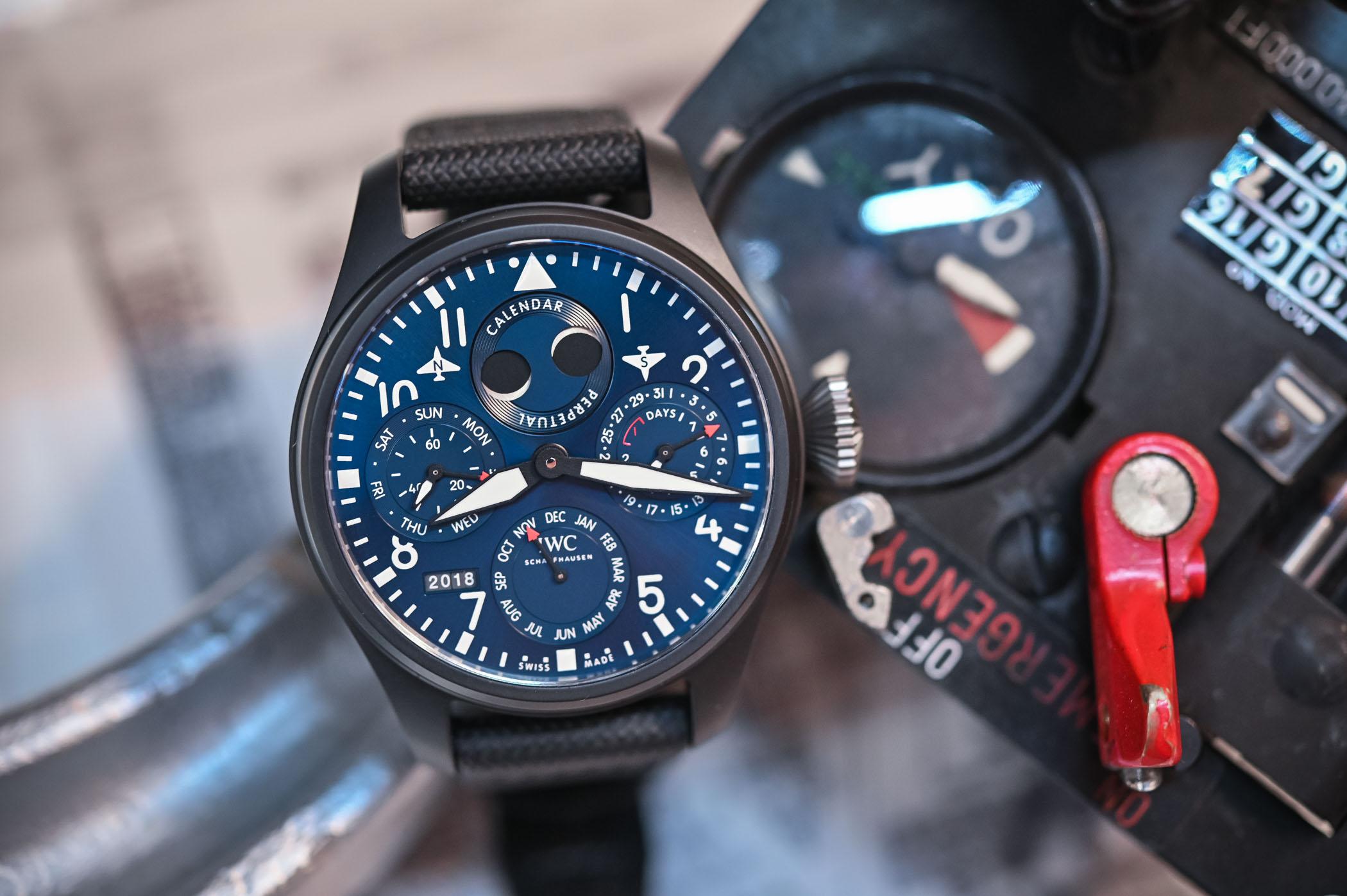 IWC Big Pilot's Watch Perpetual Calendar Edition Rodeo Drive IW503001