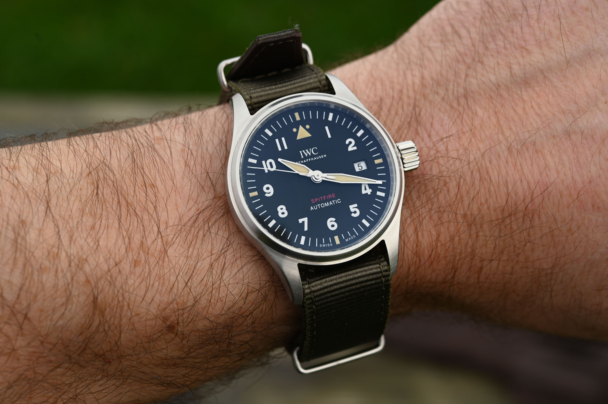 IWC Pilot's Watch Automatic Spitfire IW326801 IW326802 - SIHH 2019 - 5