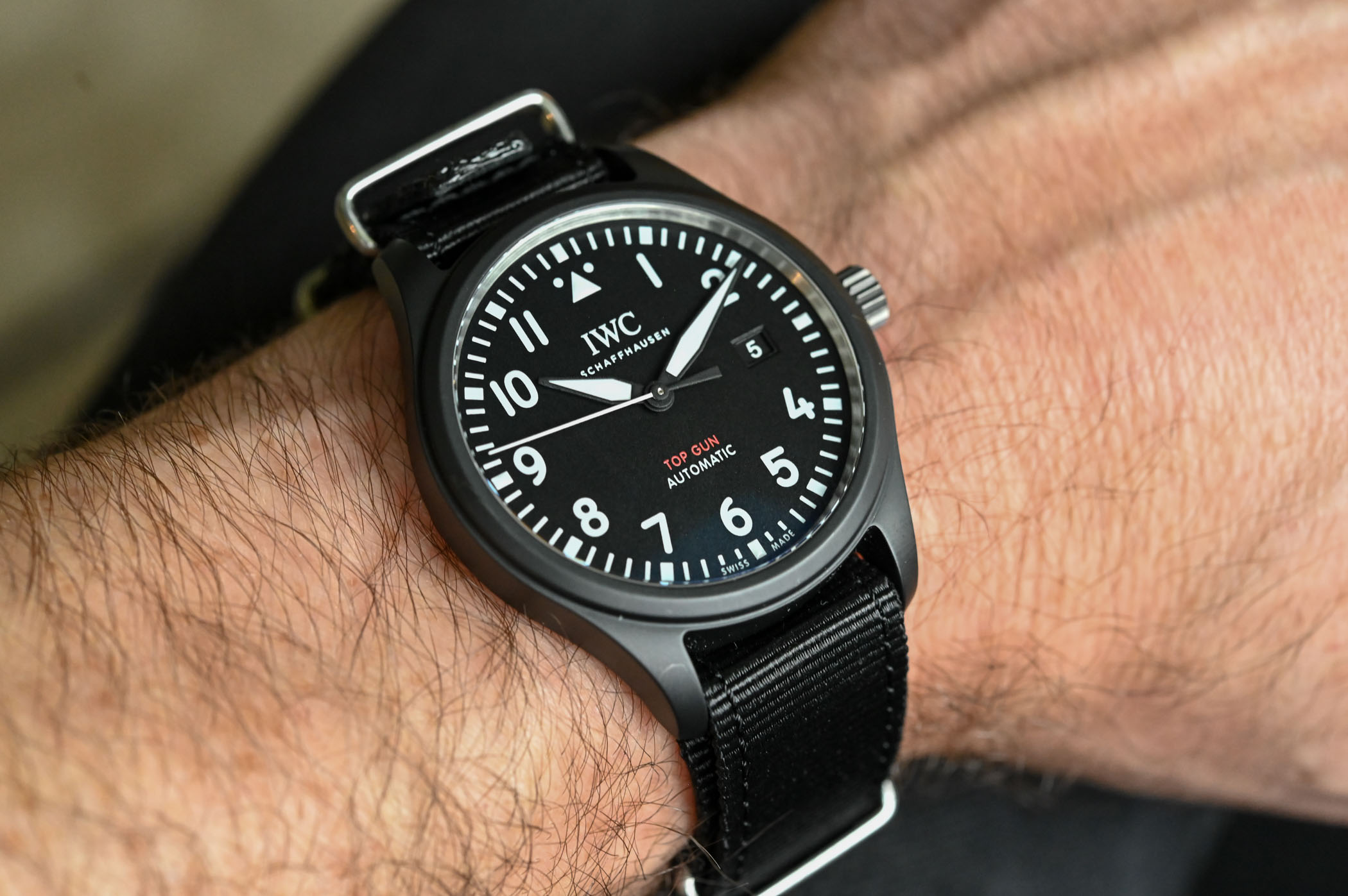 IWC Pilot's Watch Automatic TOP GUN IW326901 - SIHH 2019 - 2