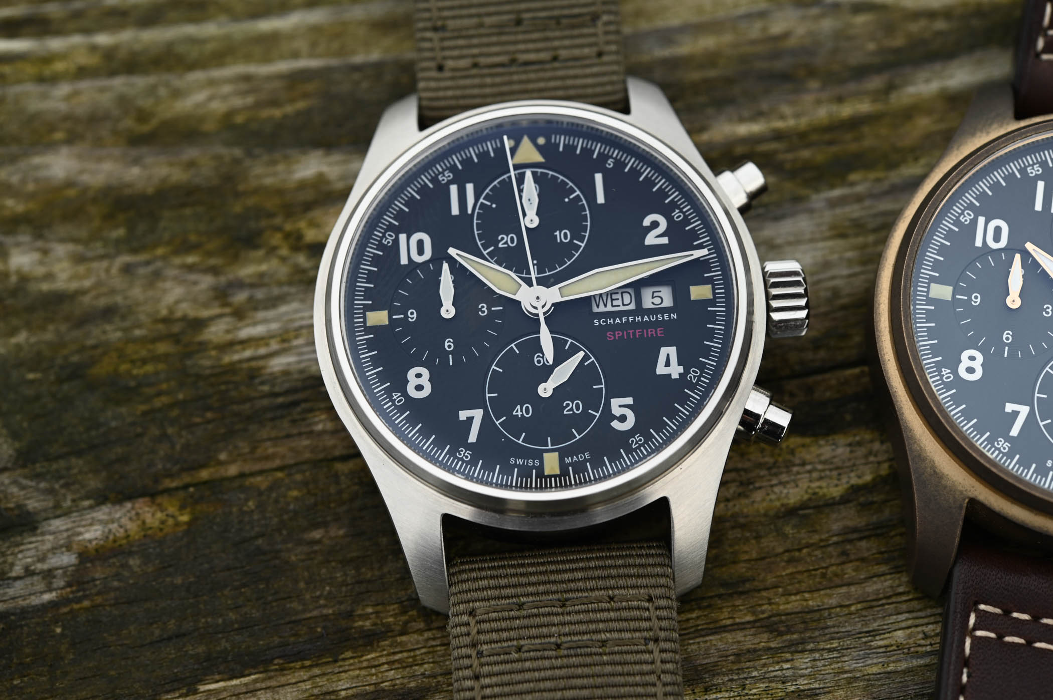 IWC Pilot's Watch Chronograph Spitfire Steel 41mm IW387901 - SIHH 2019 - 3