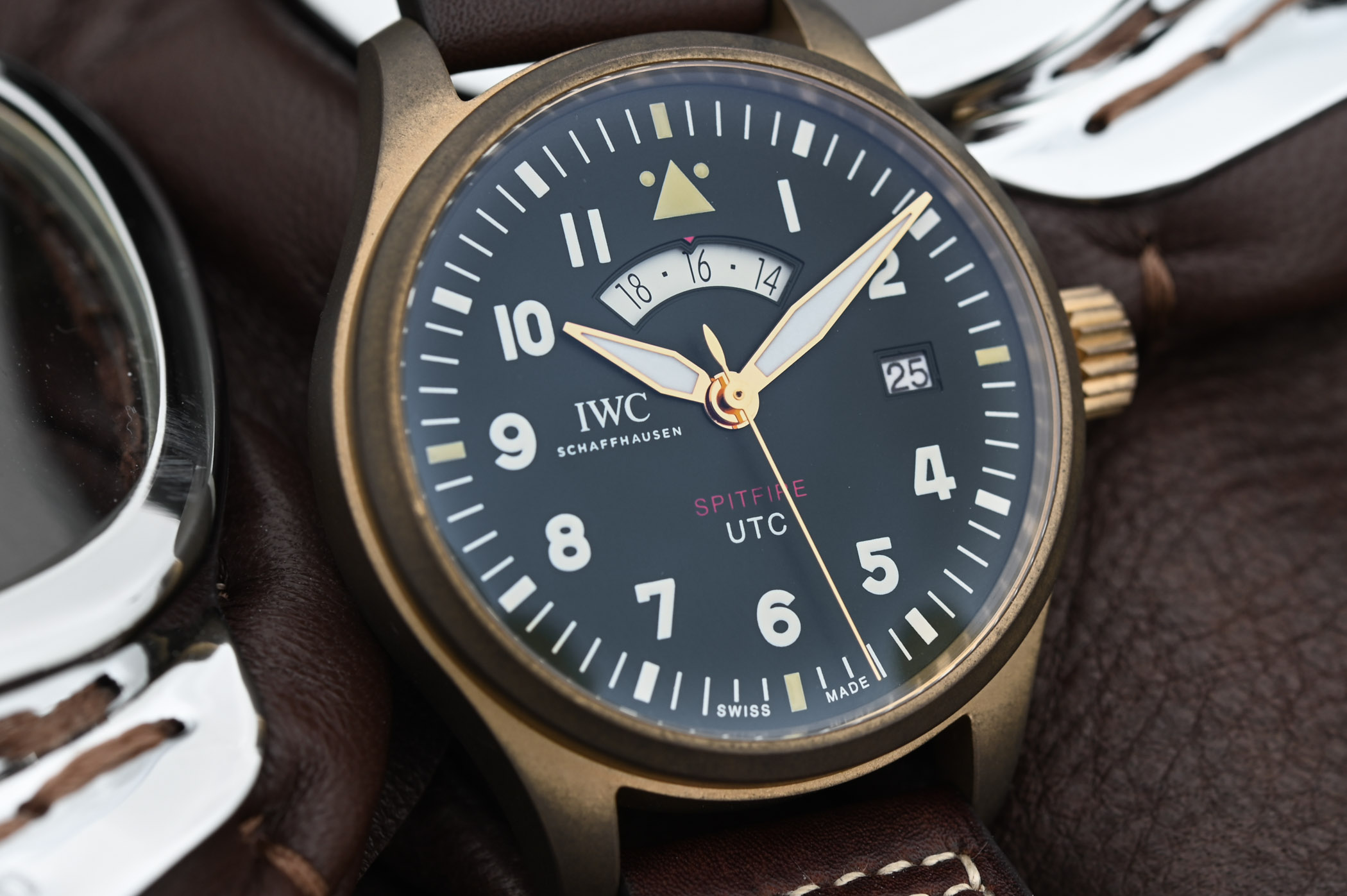 "IWC Pilot's Watch UTC Spitfire Edition ""MJ271"" ref ..."