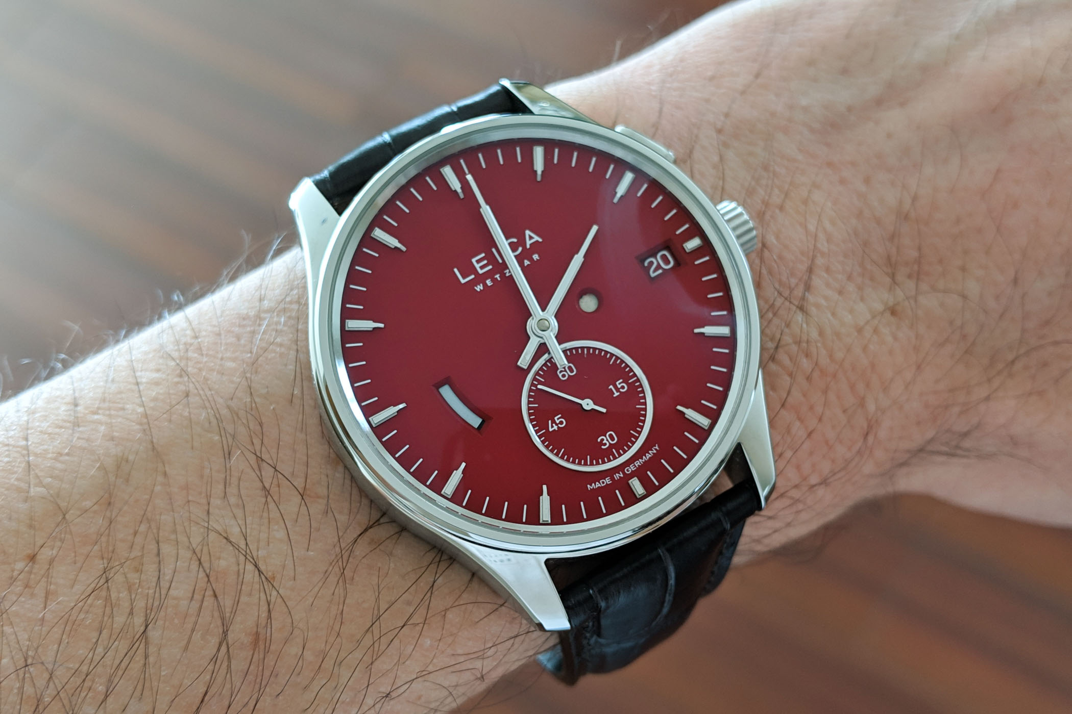 Leica Watch L1 and L2 Review - 12