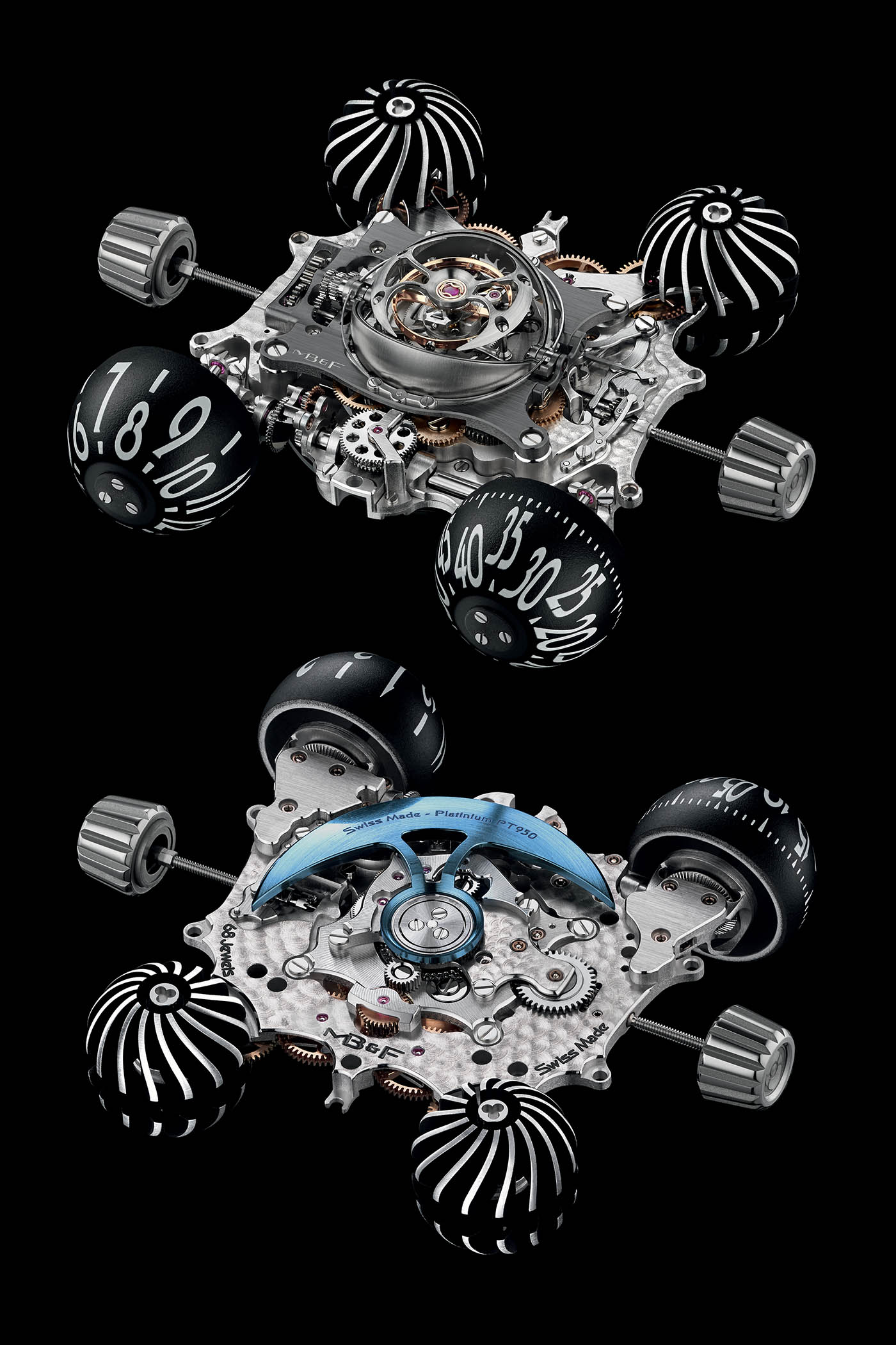 MB&F HM6 Final Edition Steel SIHH 2019