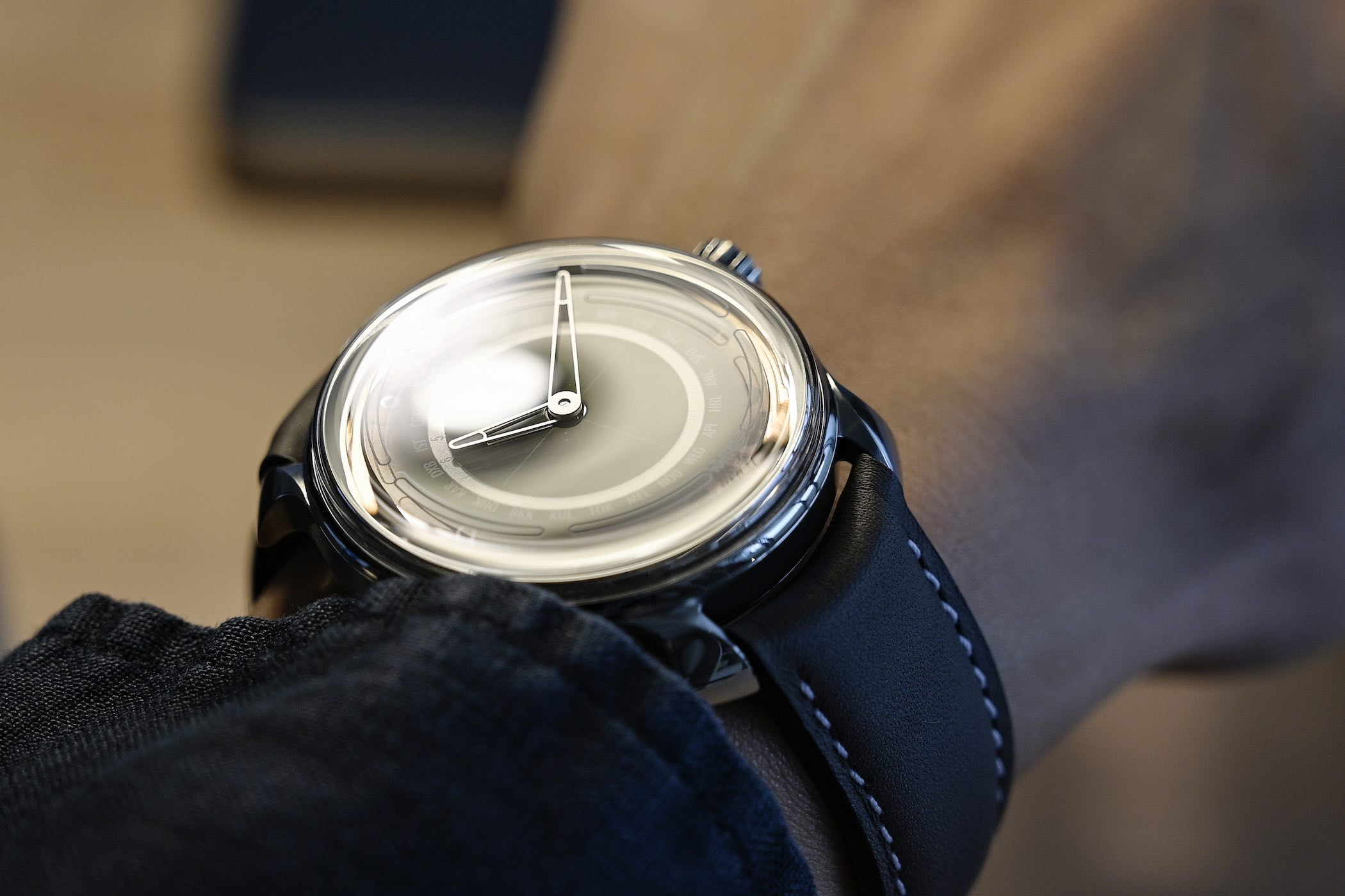 MING 19.02 Worldtimer With Schwarz Etienne Automatic Micro-Rotor Movement - 3