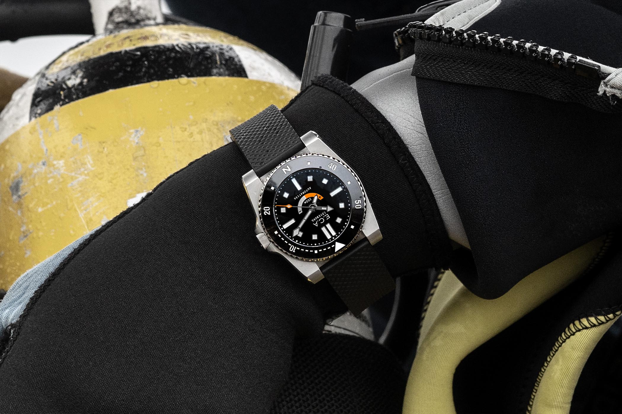 E.C.Andersson Denise dive watch - 2