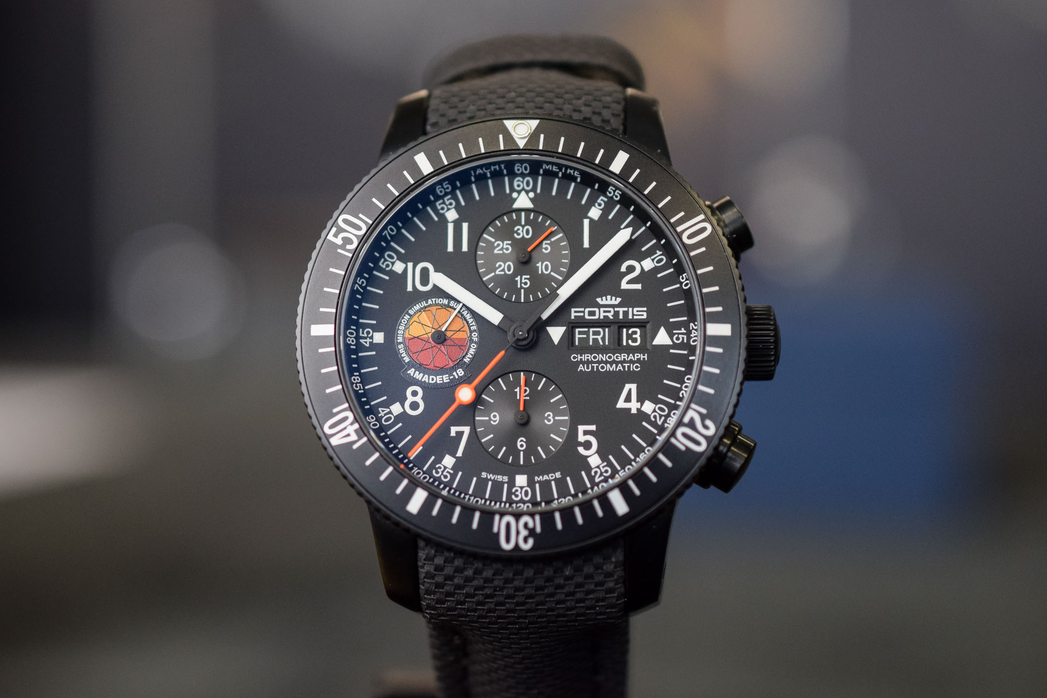 Fortis Official Cosmonauts Amadee-18 Chronograph